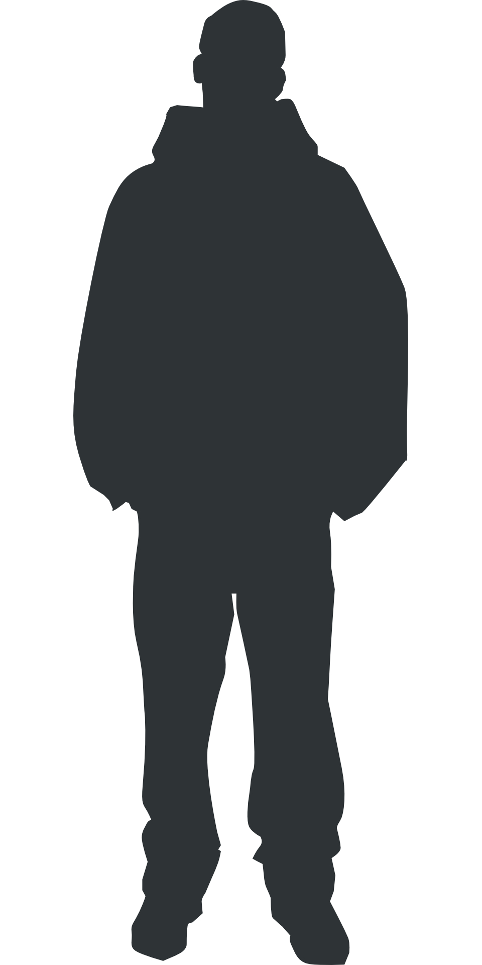 Vector Person Outline