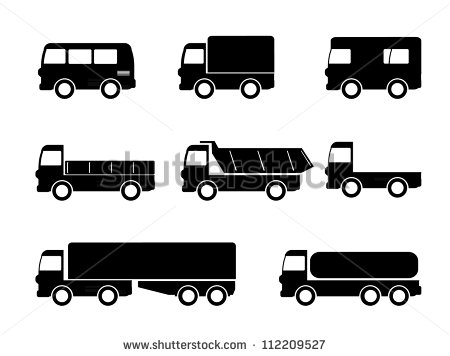 delivery truck icon vector - photo #34