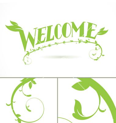 Vector Vine Leaf Designs