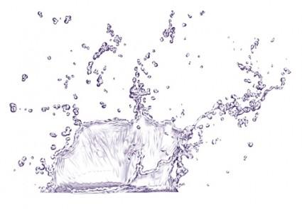 Water Splash PSD