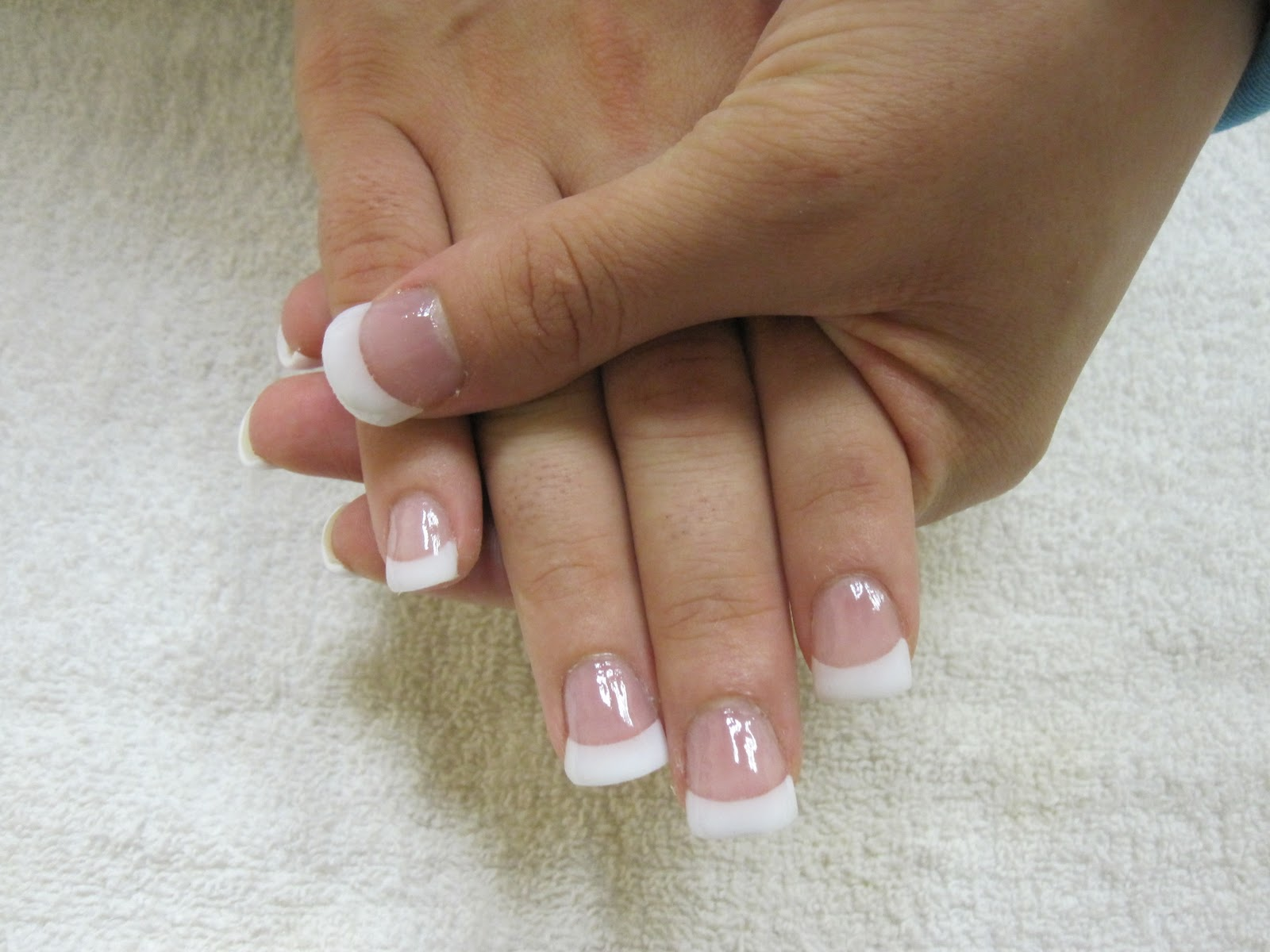 Acrylic Nail Designs For White Tips: For professional use only.