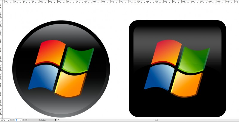 Windows Start Button Icon