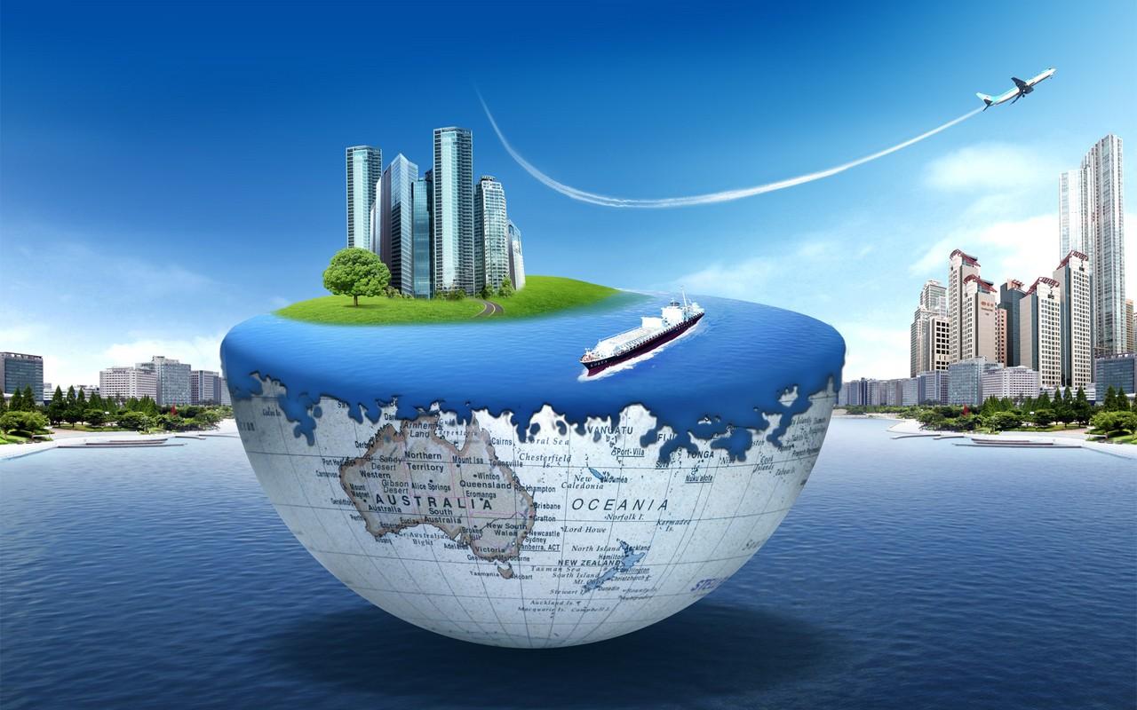 World Travel Desktop Background
