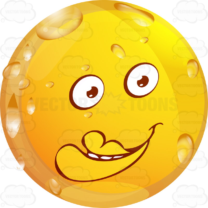 Yellow Smiley Faces with Big Eyes Cartoon