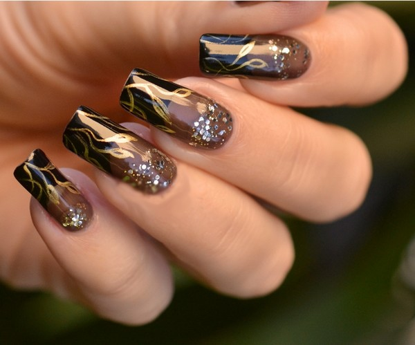 12 New Acrylic Nail Designs Images