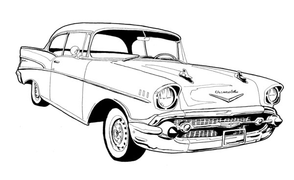 18 chevy vector art images