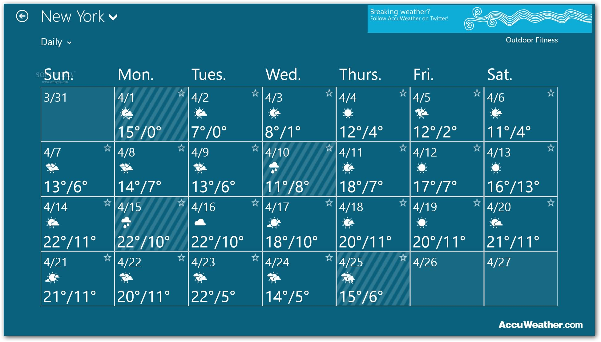 Download free software Dell Weather Gadget For Windows 7