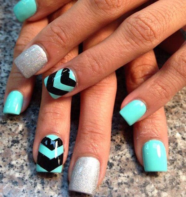 12 Teen Acrylic Nail Designs 2014 Images