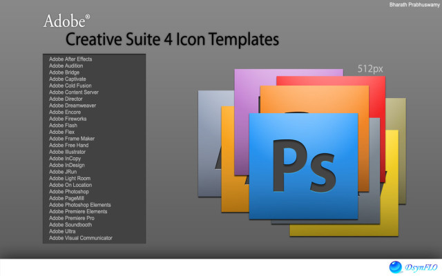 14 Adobe PSD Templates Images