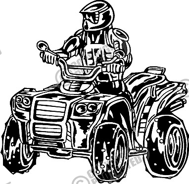 15 ATV Vector Graphics Free Download Images