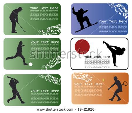 Baseball Vector Banner