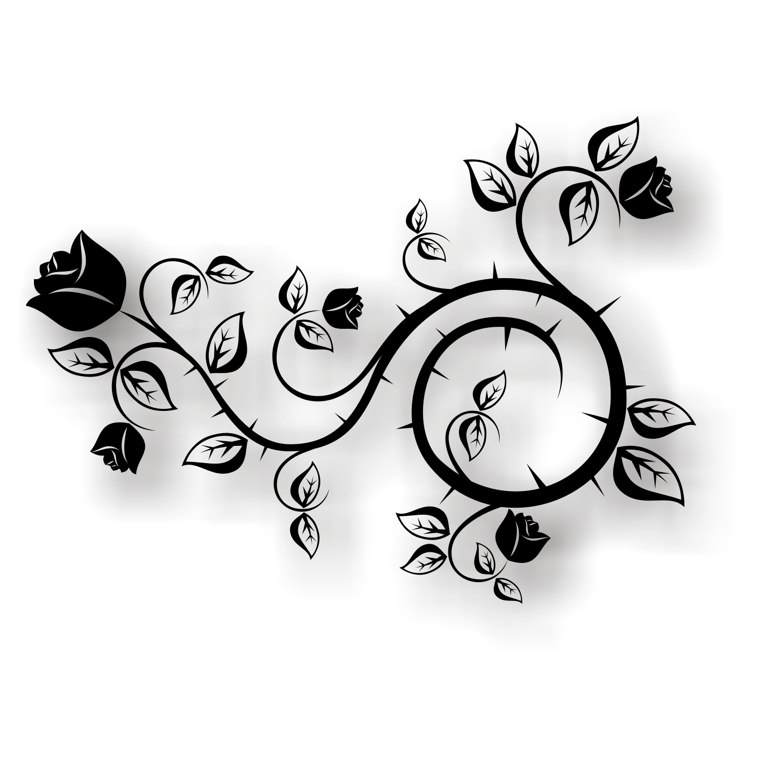 14 Rose Drawing Vector Images