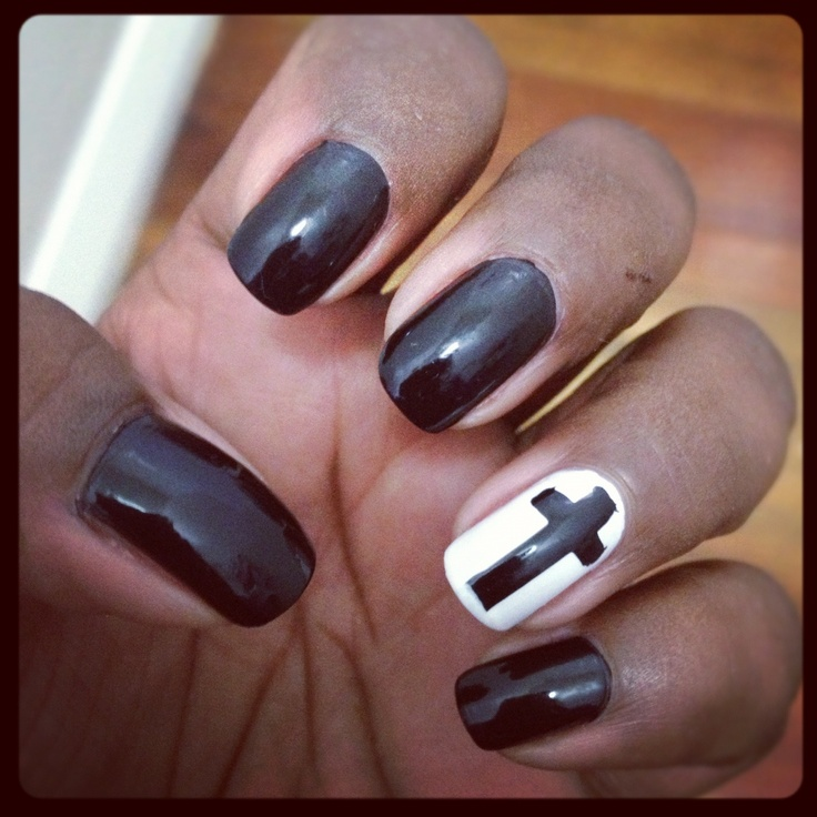 Old Fashioned Cross Nail Designs Tumblr Vignette - Nail Art Ideas ...