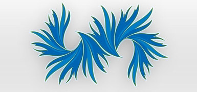 Blue Vector Art Graphics