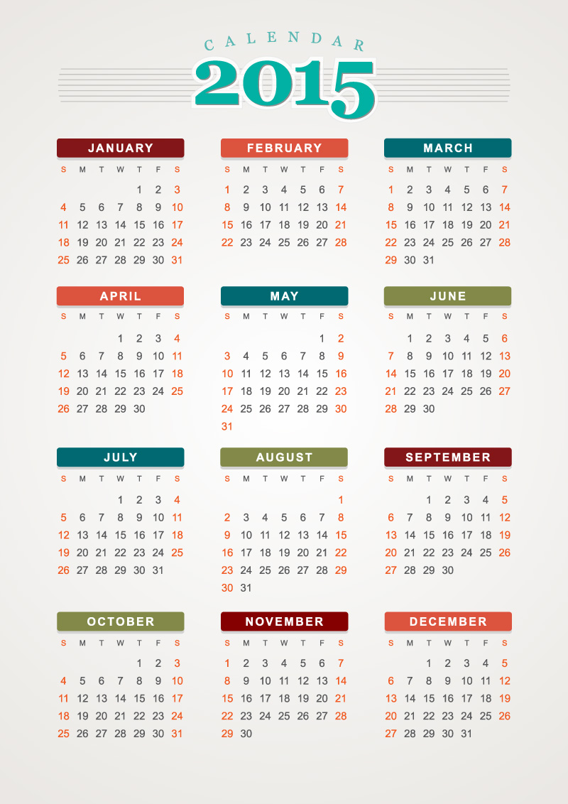 Art Calendar Template : Free calendar templates vector images