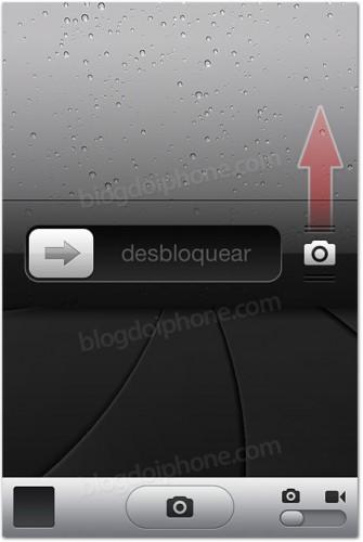 Camera Icon On iPhone Lock Screen