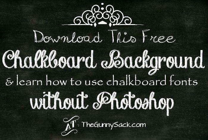 Chalkboard Lettering Fonts