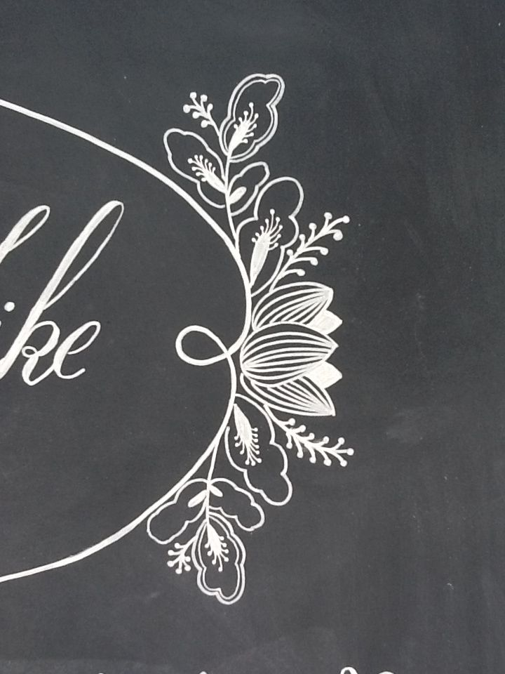13 Wedding Welcome Chalkboard Font Images
