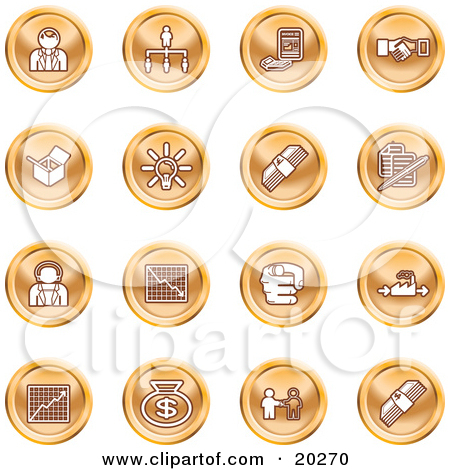 Clip Art Business Person Icon