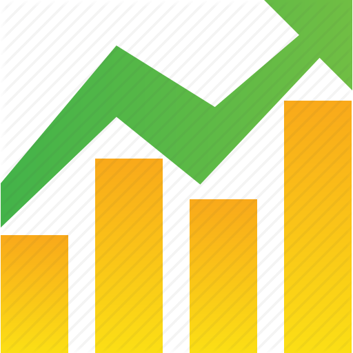 Color Line Chart Icon