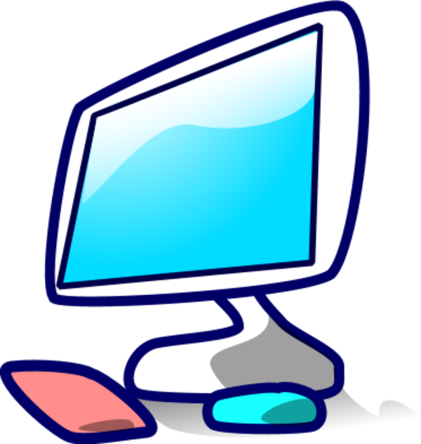 14 Computer Technology Clip Art Icon Images