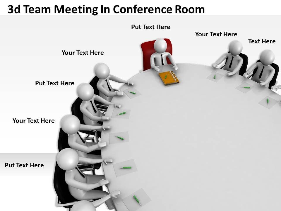 Conference Room Meeting Graphic