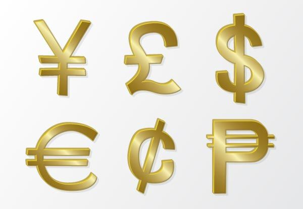 Currency Symbol Vectors