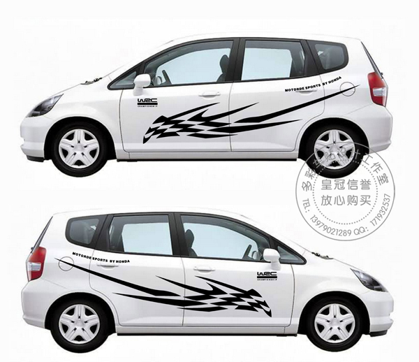 Custom car decals graphics designs