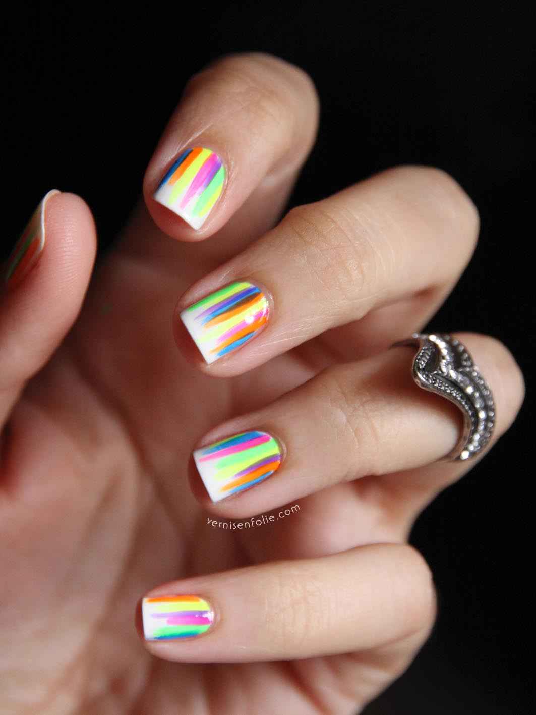 Cute Simple At Home Nail Designs Best Image Nail - Nail designs home