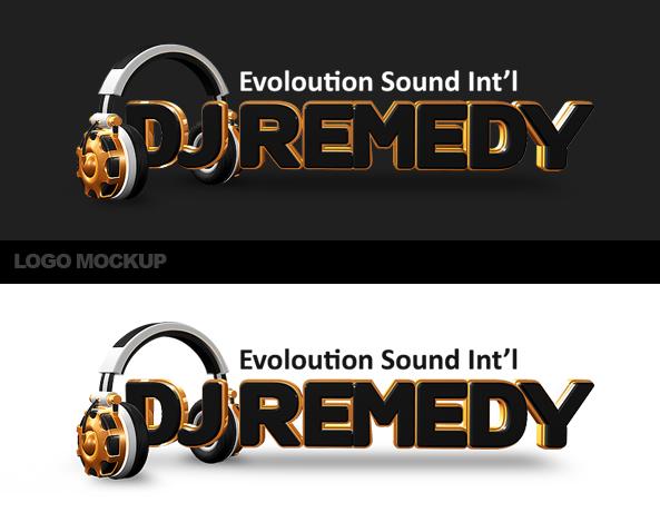 DJ Logo Design PSD