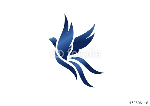 Eagle Hawk Bird Wings Logo