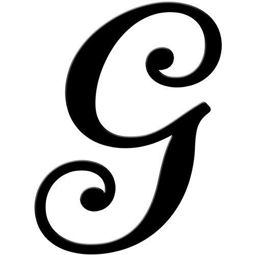 Script Letter G 10 Fancy G Font Images...