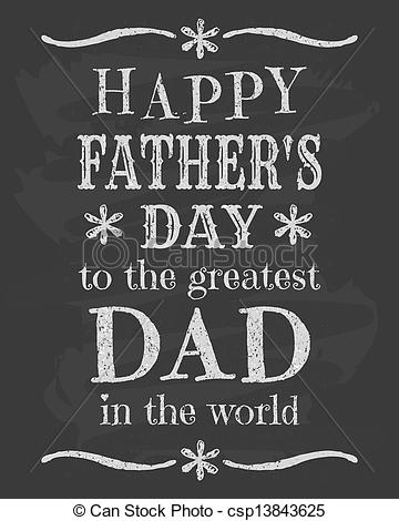 Father's Day Chalkboard Designs