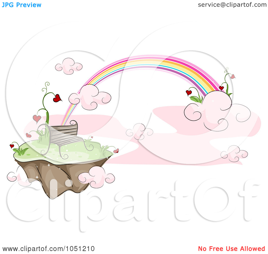 Floating Hearts Clip Art