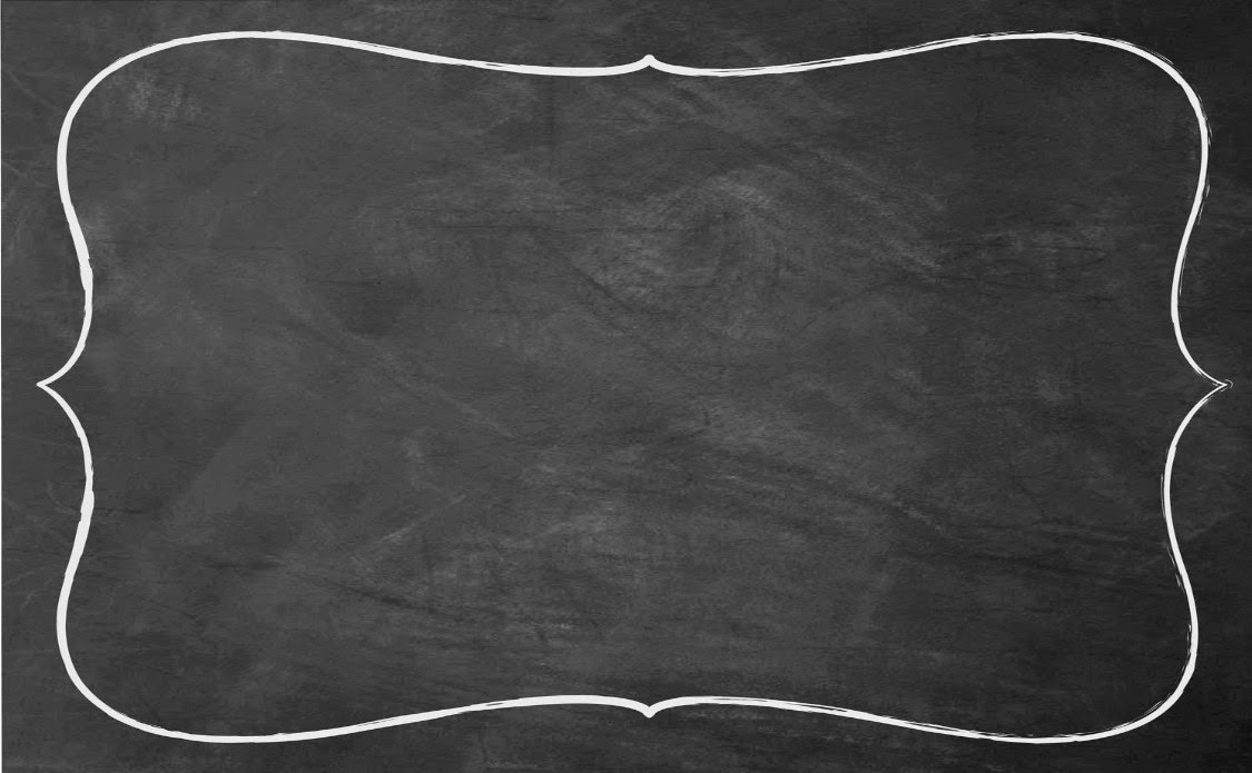 Free Chalkboard Background with Border