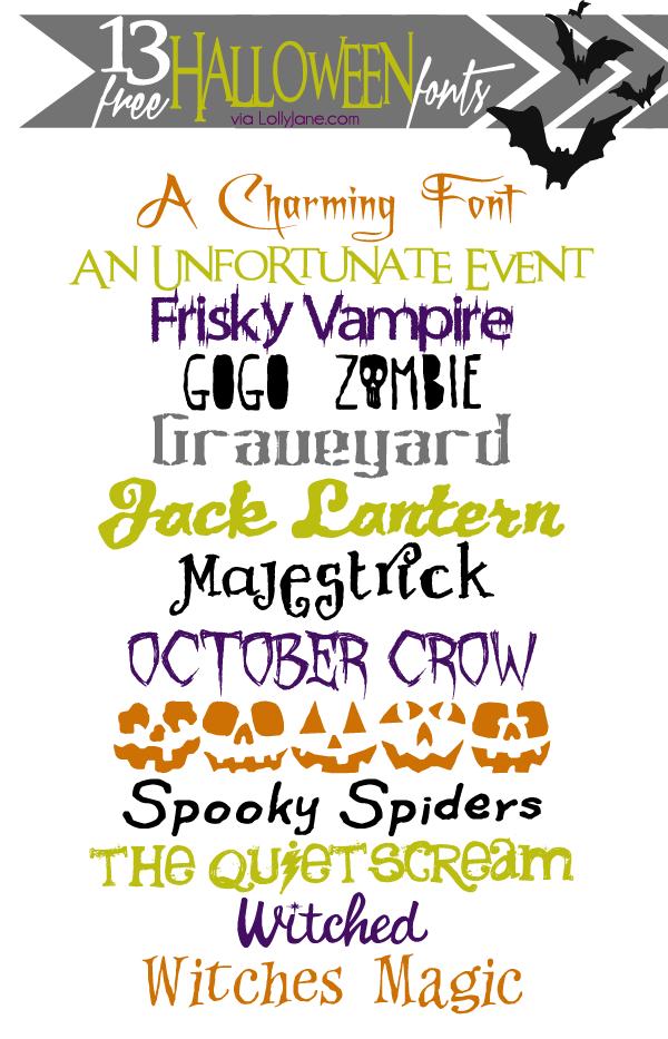 Free Spooky Halloween Fonts