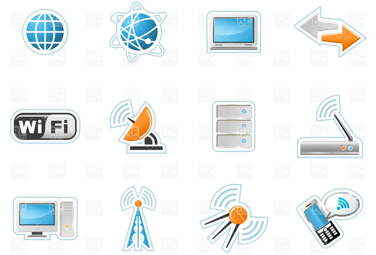 Free Technology Icons Clip Art