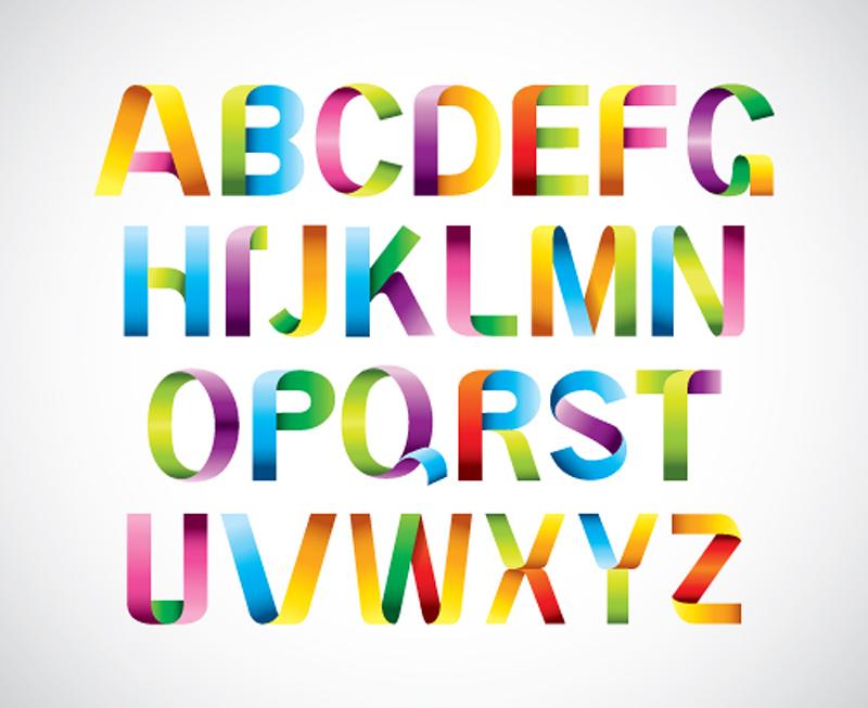 6 Ribbon Font Free Download Images