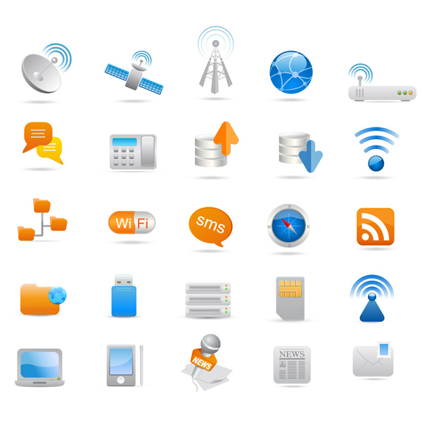 Free Vector Icons Industrial