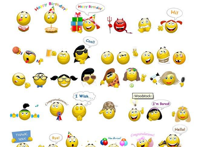 Funny Skype Emoticons