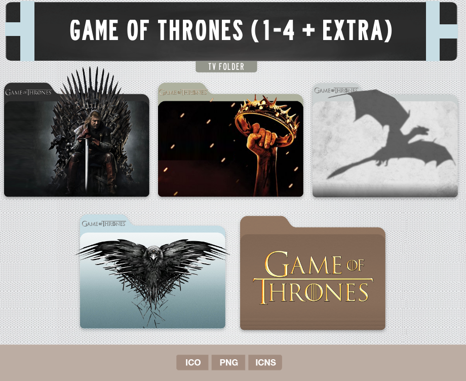 Game of Thrones Folder Icon
