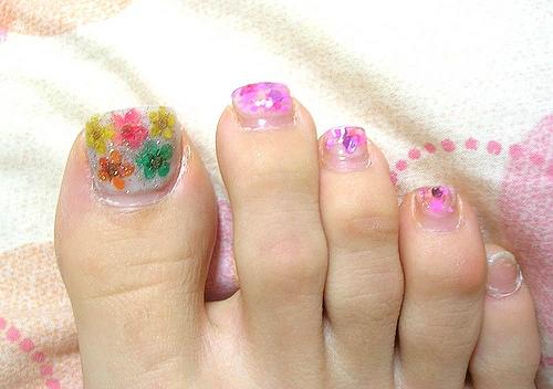 Girls Toe Nail Designs