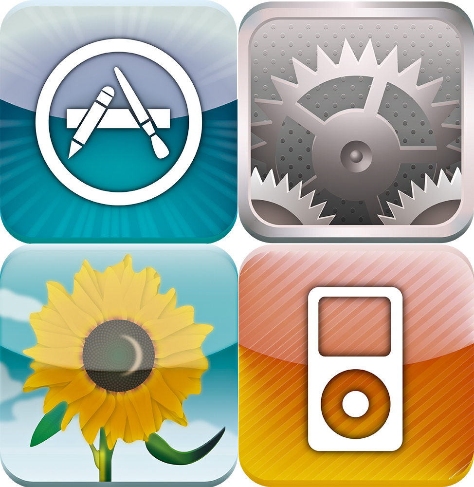 iPad Settings App Icon