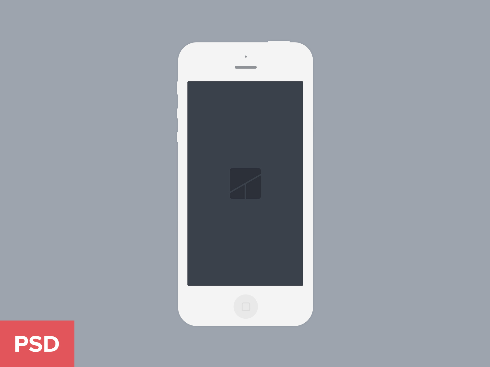 13 White IPhone Vector PSD Images