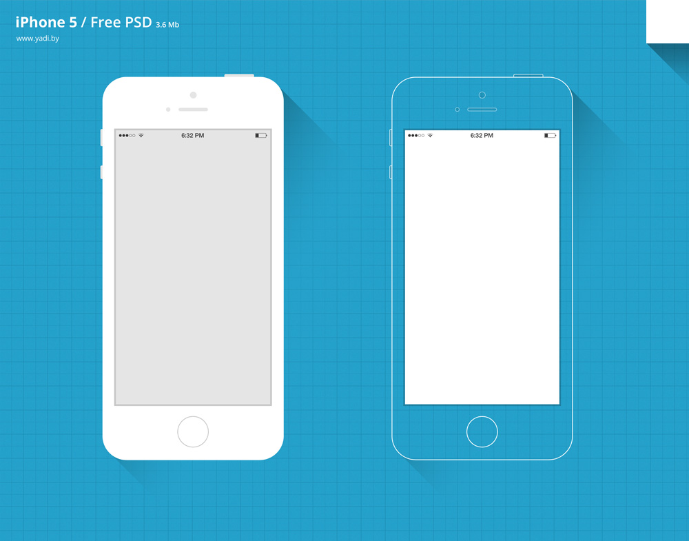 18 IPhone 5S PSD Mockup Images - iPhone 5S Mockup Vector ...