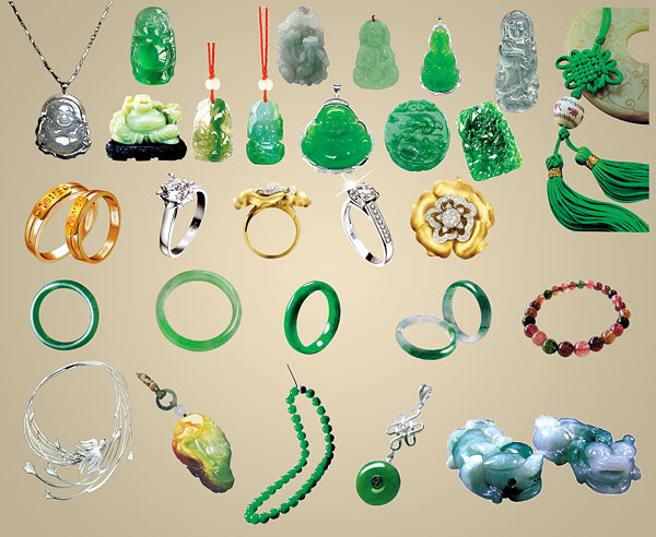 7 PSD Material Jewelry Images