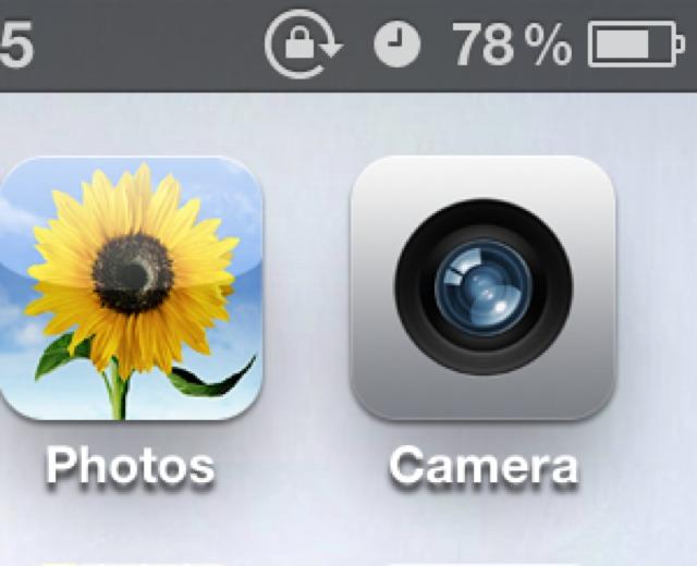 Lock Symbol On iPhone Circle Icon