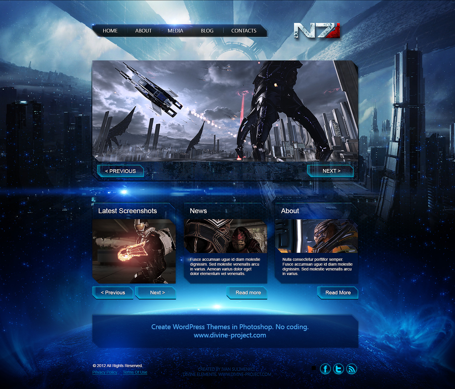 Mass Effect Templates