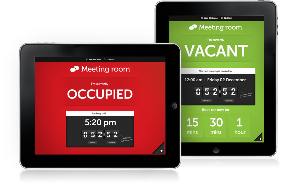 Meeting Room iPad App On iOS