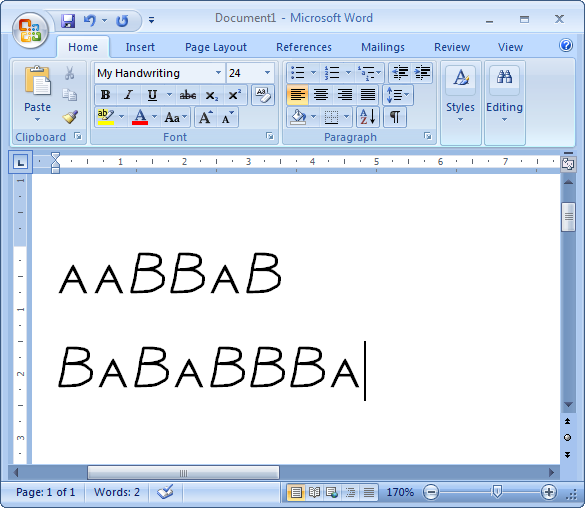 Microsoft Word Fonts Free Download